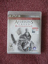 Assassin's Creed: Revelations -- Signature Edition  PlayStation 3  2011 COMPLETE