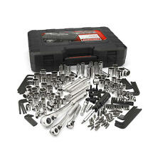 Craftsman 230-Piece Silver Finish Standard and Metric Mechanic's Tool Set 230 pc