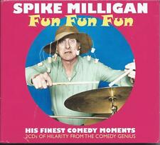 Spike Milligan - Fun Fun Fun - His Finest Comedy Moments (2CD 2013) NEW/SEALED