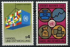 United Nations Vienna 1983 SG#V34-5 Trade And Development MNH Set #A91984