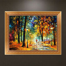 DIY 5D Autumn Forest Diamond Embroidery Painting Cross Stitch Craft Home Decor