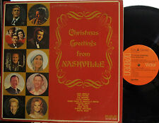 Christmas Greetings from Nashville  (Chet Atkins, Jim Reeves, Hank Snow, Browns)