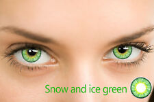 Vibrant snow /ice Color Contacts Eye Lenses Colorb lends Cosplay Cosmetic Makeup