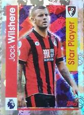8 Jack Wilshire Star Player shiny 2016/2017 Topps Merlin Premier League sticker