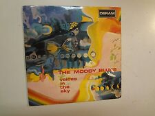 "MOODY BLUES: Voices In The Sky +2-Portugal 7"" 68 Deram EPDM 1010 EP PCV Flipback"