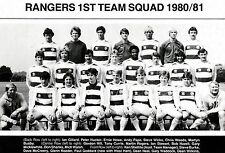 QPR FOOTBALL TEAM PHOTO 1980-81 SEASON