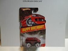 Hot Wheels Happy Birthday Red Hummer H2