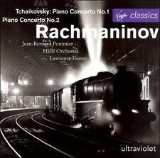 Rachmaninov Tchaikovsky # Piano Concertos Pommier Halle Orch Foster (Virgin) CD