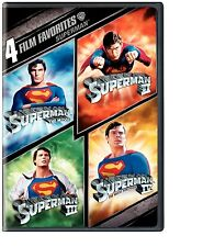 SUPERMAN 1 2 3 4 (1978-1987) CHRISTOPHER REEVE DVD R4