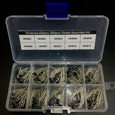 Common use Diode assorted kit box 10valuex20pcs 1N4001~1N4007 1N5817~1N5819