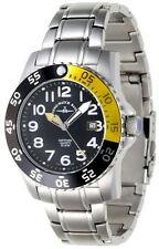 Zeno-Watch BASILEA SWISS MADE Airplane Diver II 6350q-a1-9m Ronda ZAFFIRO 50 ATM