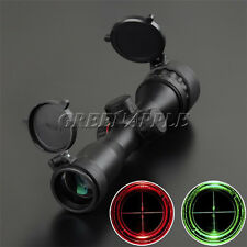 Sniper Compact 4x32AOE Green/Red Reticle Hunting Rifle Scope LLL Night Vision