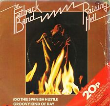 """FATBACK BAND do the spanish hustle 7"""" PS EX/VG wos uk polydor 2066 656"""