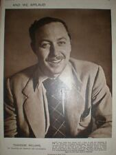 Photo article Tennessee Williams 1949