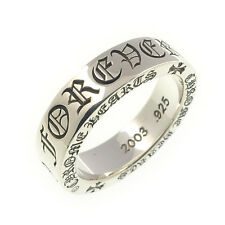 Authentic Chrome Hearts Spacer Ring 6mm FOREVER US9 JP18 Silver 925 Used F/S