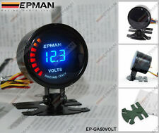 "EPMAN RACING 52mm 2"" DIGITAL ANALOG LED VOLTAGE VOLT GAUGE METER"