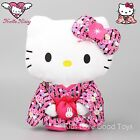 Hello Kitty Japanese Kimono Up Holding Bag Plush Toy Soft Doll 12'' Red