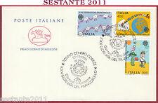 ITALIA FDC CAVALLINO GIORNATA DEL FRANCOBOLLO 1983 ANNULLO TORINO T340