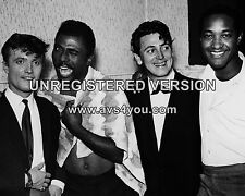 "Gene Vincent / Little Richard / Sam Cooke / Jet Harris 10"" x 8"" Photograph"
