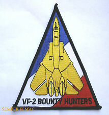 AUTHENTIC VF-2 BOUNTY HUNTERS FIGHTING 2 PATCH US NAVY USS FA/18 F-14 F4 CVW2