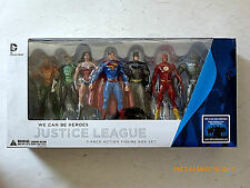 DC COLLECTIBLES JUSTICE LEAGUE - JLA- WE CAN BE HEROES ACTION FIGURE 7- PACK SET