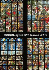 BF40508 rouen eglise saint jeanne d arc sainte anne france stained glass vitraux