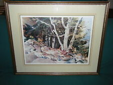 Raleigh Kinney: East Valley Sycamores Arizona Ltd Ed Studio Print 96/200