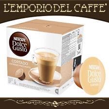 Caffè Nescafè Dolce Gusto Krups 192 Capsule Cialde Cortado Macchiato - Originali