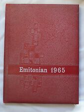 1965 EMINENCE HIGH SCHOOL YEAR BOOK, EMINENCE, INDIANA THE EMITONIAN    UNMARKED