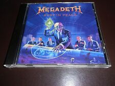 MEGADETH - RUST IN PEACE - CD (1990 / U.K.  ORIGINAL)