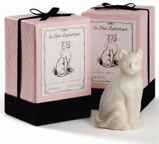Le Chat White Cat Animal Triple French Milled Soap Gift Box Set Gianna Rose USA