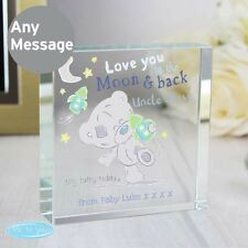 Me to You Personalised Large Crystal Token Moon & Back - Tiny Tatty Teddy