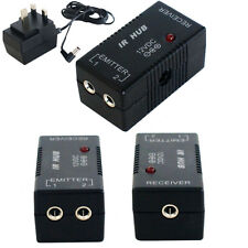 IR INFRARED HUB REPEATER SYSTEM 12V -  REMOTE CONTROL EXTENDER DISTRIBUTION