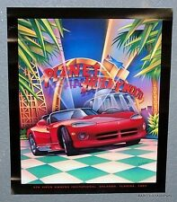 2 Posters - Dodge Viper 4th Invitational Planet Hollywood Poster