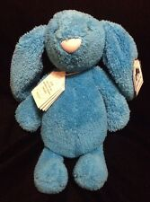 Jellycat Bashful Quentin Bunny Rabbit Plush Soft Toy Stuffed Blue Stripe Special