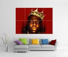 BIGGIE SMALLS NOTORIOUS B.I.G GIANT WALL ART PHOTO PRINT POSTER