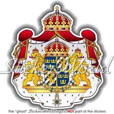 SCHWEDEN Großes Wappen Schwedens Schwedisches Auto Aufkleber Sticker Decal
