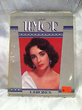 Vintage 1982 Elizabeth Taylor. Tom Hutchinson. The Screen Greats Collection