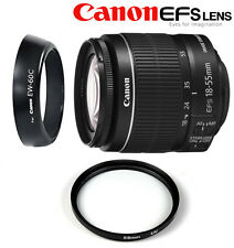 Canon EF-S 18-55 mm f/3.5-5.6 IS II + FILTRO UV 58MM + PARALUCE EW-60C SPED.OGGI