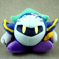 "Nintendo 2015 Sanei JPN Kirby All-Star soft 6"" Plush Metaknight Meta Knight NWT"