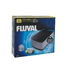 Fluval Q1 Air Pump For 300 Litre Aquariums Super Quiet Long Lasting Twin Outlet