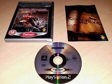 Dios de la guerra PS2 (PAL en muy buen estado Completo) la mitología griega Hack & Slash combate aventura
