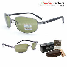 SERENGETI MANETTI SUNGLASSES POLARIZED PHOTOCHROMIC 555NM SHINY GUNMETAL 7579