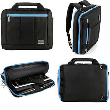 Backpack and Messenger Bag for ASUS ROG G751JT-CH71 17.3-Inch Laptop Black/Aqua