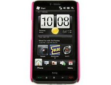 Rubberized Phone Case Hot Pink For T-Mobile HTC HD2