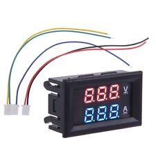 100V 100A DC Car Auto Digital Voltmeter Ammeter LED Amp Volt Meter 12V
