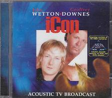 JOHN WETTON / GEOFFREY DOWNES - icon CD