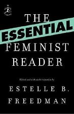 Modern Library Classics: The Essential Feminist Reader (2007, Paperback)