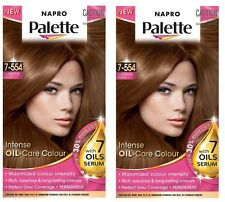 2 x Napro Palette INTENSE OIL-CARE COLOUR 7-554 Luminous Gold 100% Brand New
