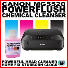 Canon MG5520: Printer Head Cleaner - Nozzle Flush - Streaky Print Fix